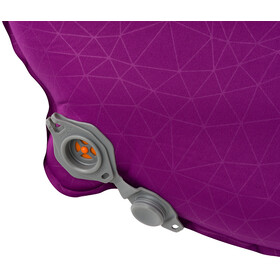 Sea to Summit Comfort Plus Colchoneta autoinflable L Mujer, grape